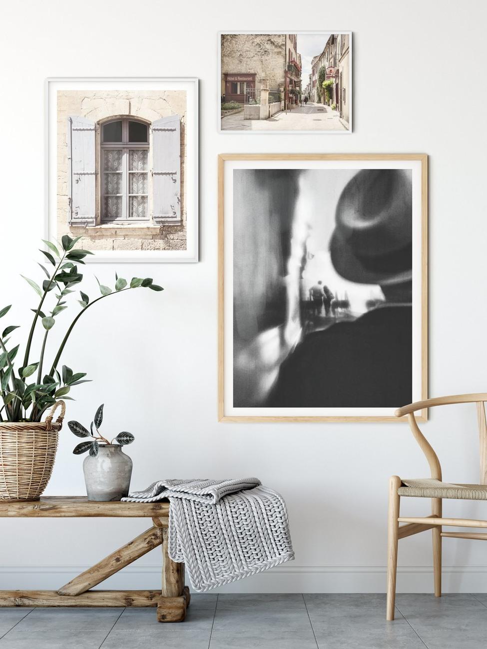 Art Print on Demand French Window