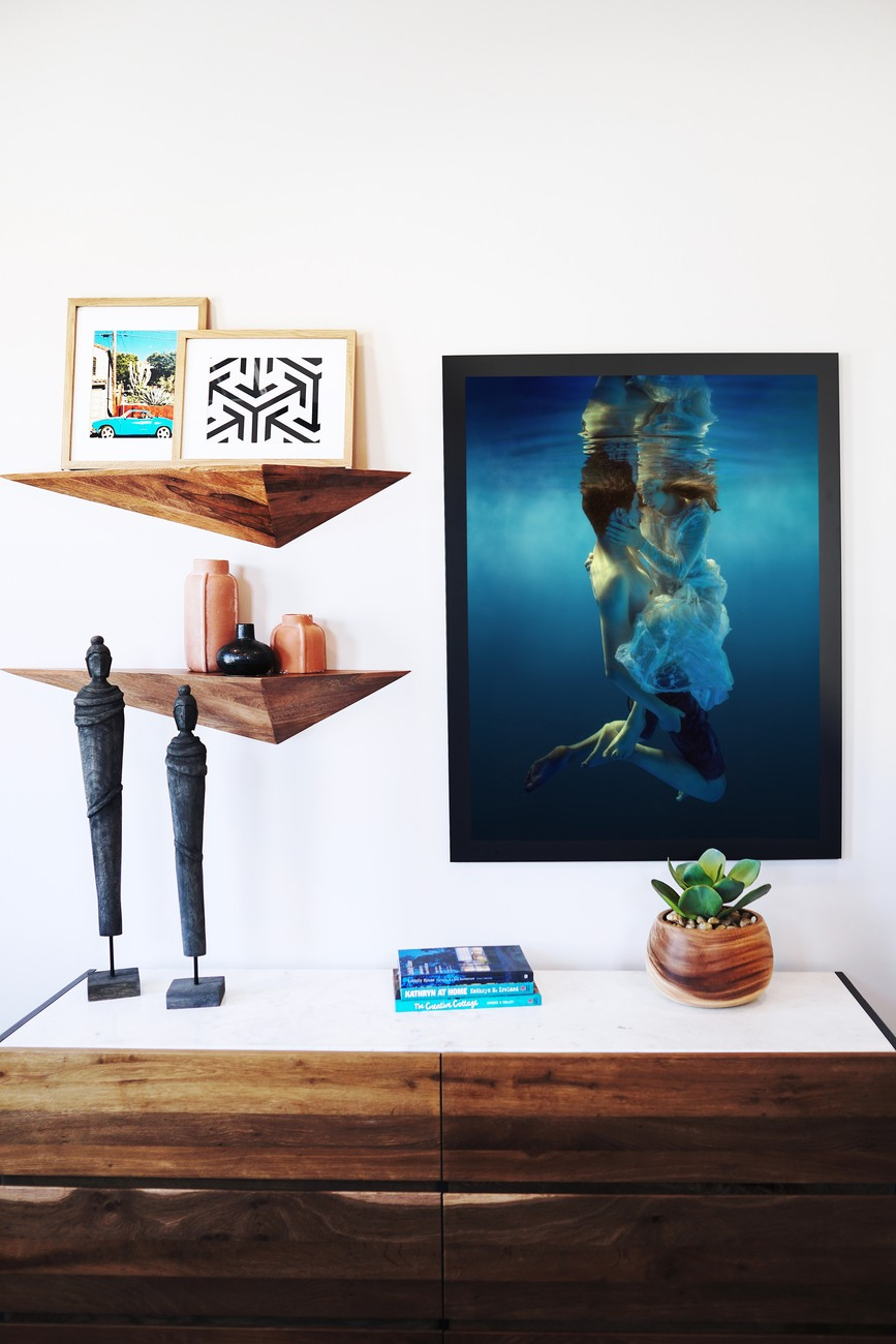 Art Print on Demand Love Story of the Golden Fish