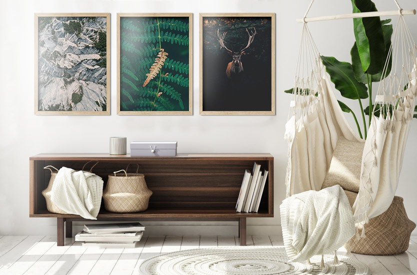 Art Print on Demand One dry fern blade
