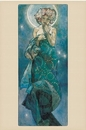 Alfons Mucha - moon