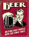 BEER - ugly people