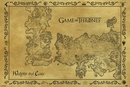 Game of Thrones - Map Antique Style