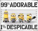 Despicable Me 3 - 99% Adorable 1% Despicable